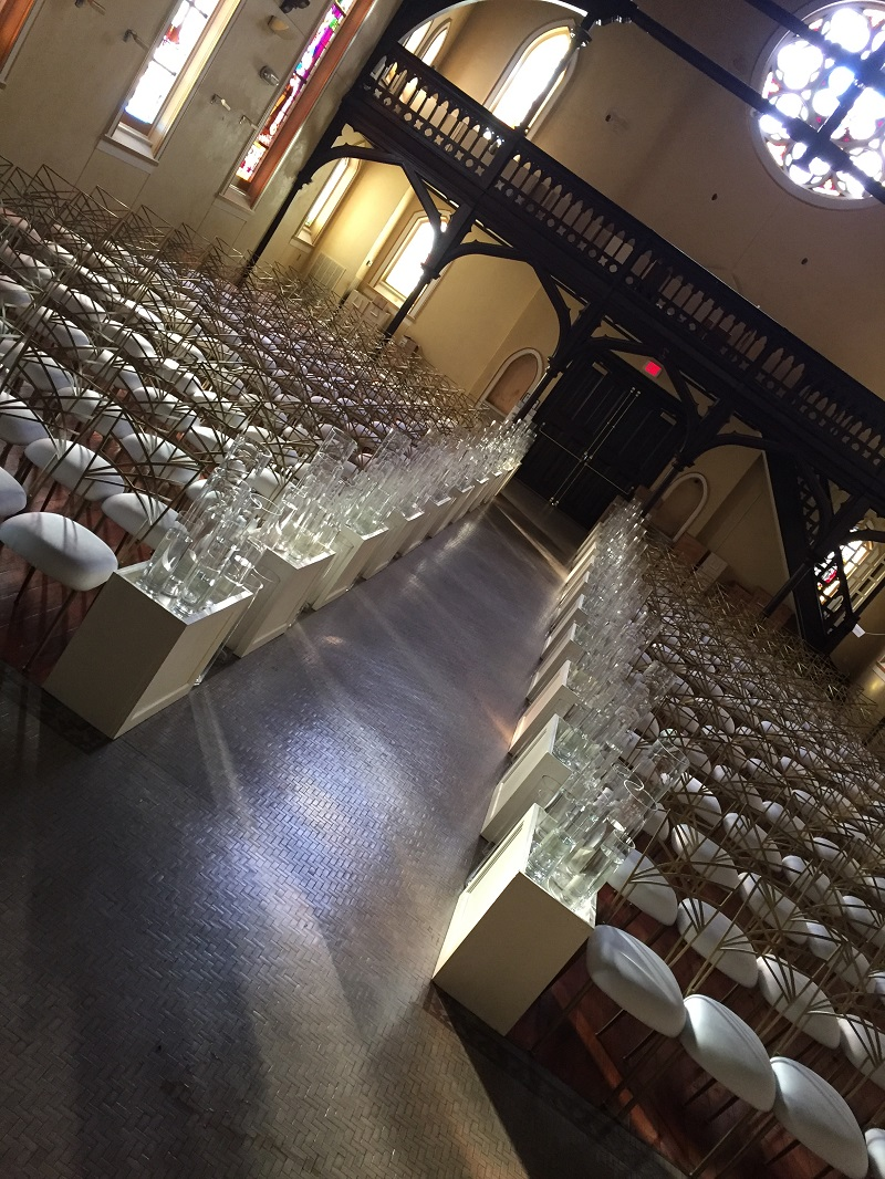 Wink Design and Events Chameleon Chairs at the Monastary