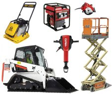 Equipment rentals at Just Ask Rental serving Metairie, NOLA, New Orleans, Kenner Louisiana