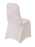 Rental store for CHAIR COVER, SPANDEX WHITE in New Orleans LA