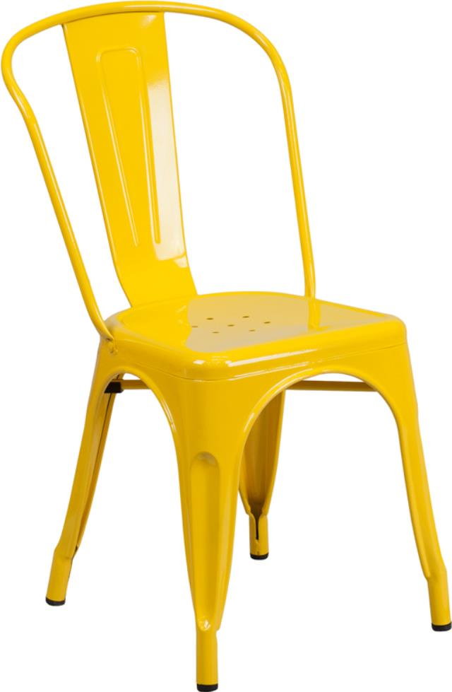 Where to find CHAIR, BISTRO METAL YELLOW in New Orleans