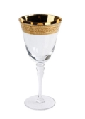 Rental store for GLASS, GOLD RIM WINE 10OZ. in New Orleans LA