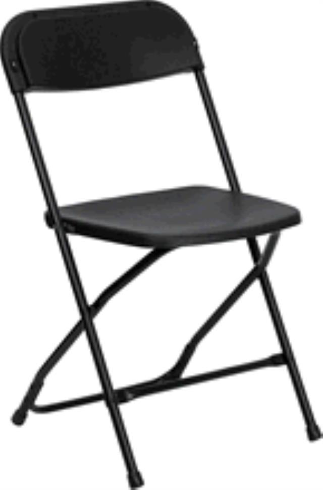 Rent Chair, Poly Folding
